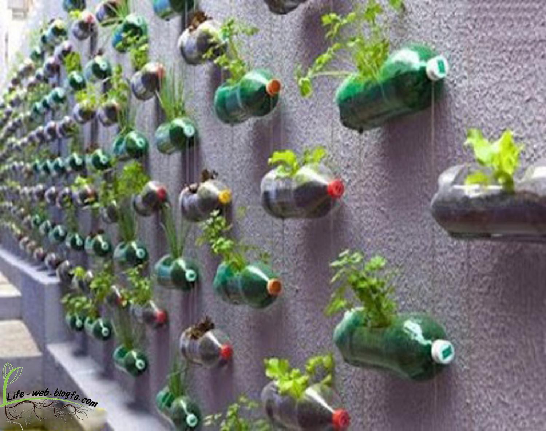 Рукоделие из бутылок пластиковых своими руками